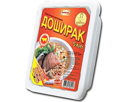 Лапша Доширак со вкусом говядины 90 г - (158675К)