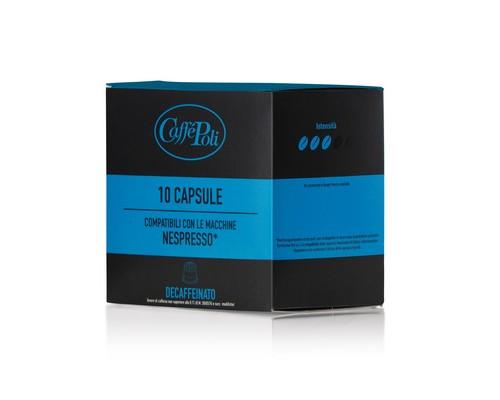 Капсулы для кофемашин Caffe Poli Decaf 10 штук в упаковке - (575336К)