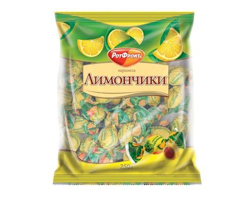 Карамель Рот Фронт Лимончики 250 г - (419656К)