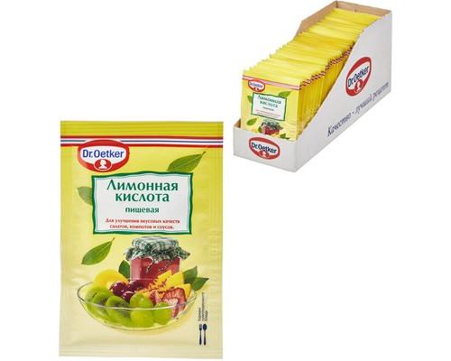 Кислота лимонная Dr.Oetker 8 г 50 штук в упаковке - (451008К)