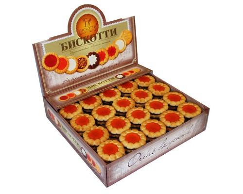 Печенье Бискотти Коста браво с апельсиновым мармеладом 2 кг - (416112К)