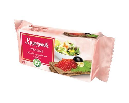 Хлебцы Круазетт ржаные тонкие 100 г - (474759К)