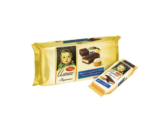 Пирожное Аленка со сливочным кремом 240 г 6 штук в упаковке - (271982К)