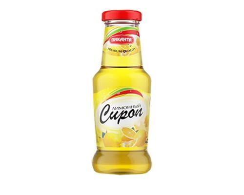 Сироп Пиканта лимонный 250 мл - (417858К)