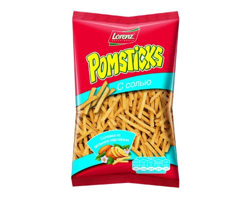 Картофельная соломка Pomstiks с солью 100 г - (278282К)