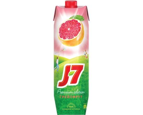 Сок J7 грейпфрут с мякотью 0.97 л - (440372К)