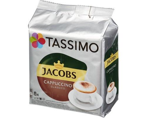 Капсулы для кофемашин Tassimo Cappuccino 16 штук в упаковке - (330479К)