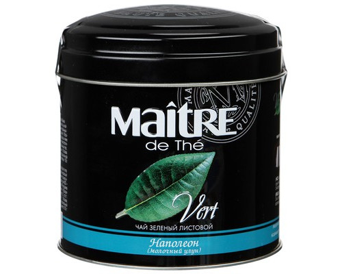 Чай Maitre Наполеон зеленый 100 г - (104580К)