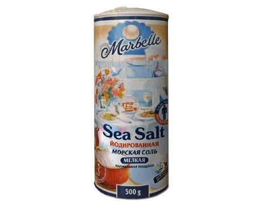 Соль морская Marbelle йодированная 500 г - (659977К)