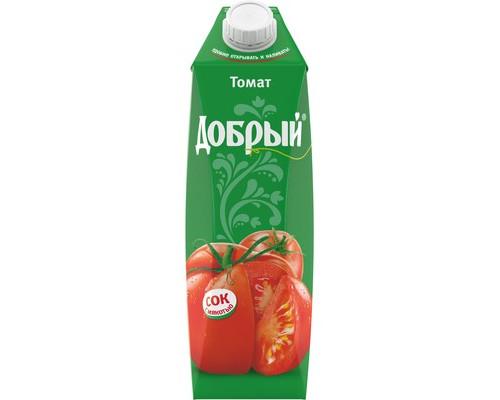 Сок Добрый томатный 1 л - (443488К)