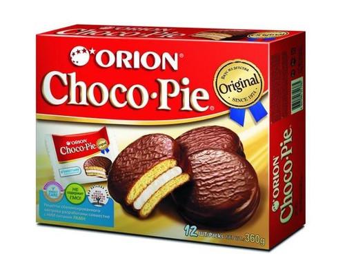 Пирожное Orion Choco Pie 360 г 12 штук в упаковке - (251644К)