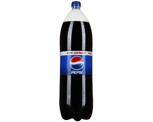 Напиток Pepsi газированный 2.25 л 6 штук в упаковке - (493908К)