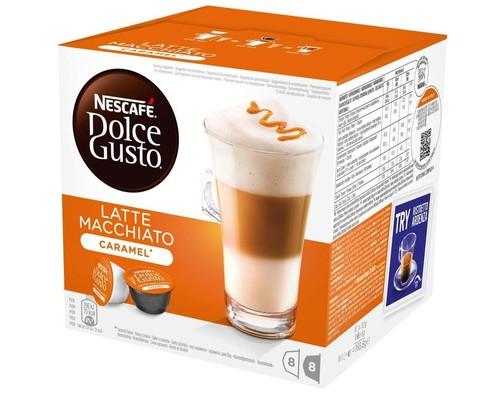 Капсулы для кофемашин Dolce Gusto Latte Macchiato 16 штук в упаковке - (383114К)