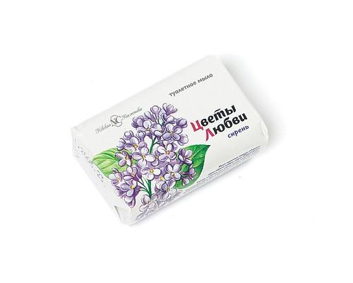 Мыло туалетное Цветы любви Сирень 90 г - (48623К)