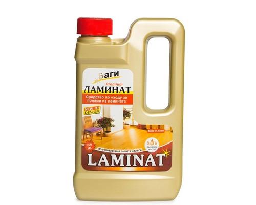 Средство для мытья пола Bagi Ламинат 550 мл - (658417К)