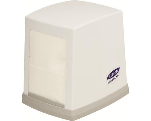Держатель для салфеток диспенсер Luscan Professional N2 пластиковый серый - (601121К)