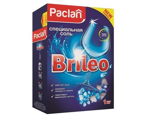 Специальная соль для посудомоечных машин Paclan Brileo 1 кг - (667308К)