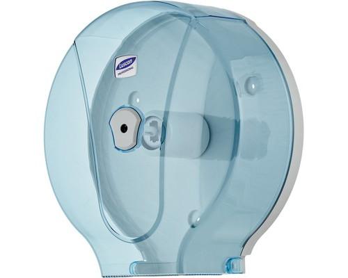 Держатель для туалетной бумаги диспенсер Luscan Professional пластиковый для макси-рулонов синий - (479411К)