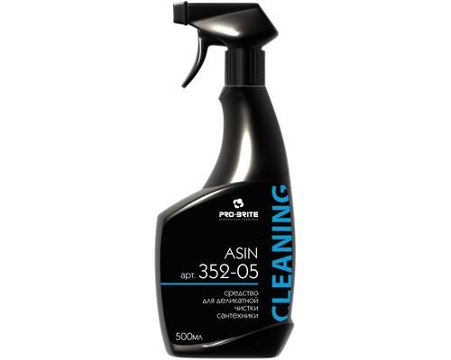 Профессиональное средство для деликатной чистки сантехники Pro-Brite Asin 500 мл - (628295К)