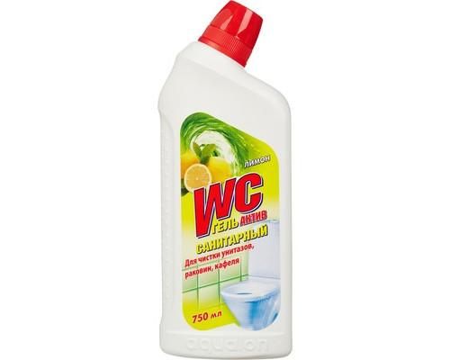 Средство для чистки сантехники WC Актив Санитарный гель 750 мл отдушки в ассортименте - (86165К)