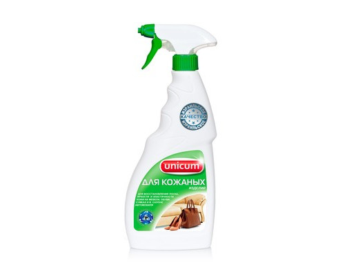Средство для чистки и ухода за изделиями из кожи UNICUM 500 мл - (626733К)