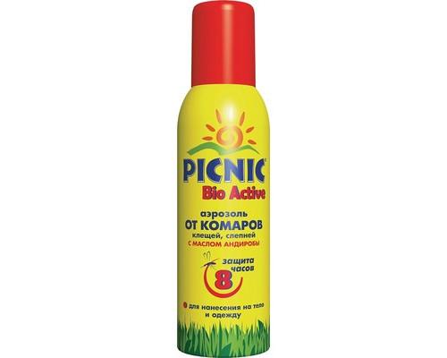 Средства от насекомых Picnic Bio Active от комаров и клещей 125 мл - (571051К)