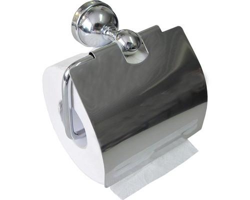 Держатель для туалетной бумаги 3086 металлический хромированный - (334089К)