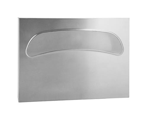 Держатель для покрытий на унитаз нержавеющая сталь/сатин - (687985К)