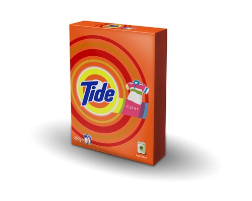 Порошок стиральный Tide Color автомат 450 г - (618722К)