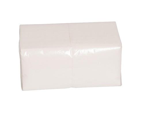 Салфетки бумажные Big Pack 1-слойные 24x24 см белые 600 штук - (75275К)