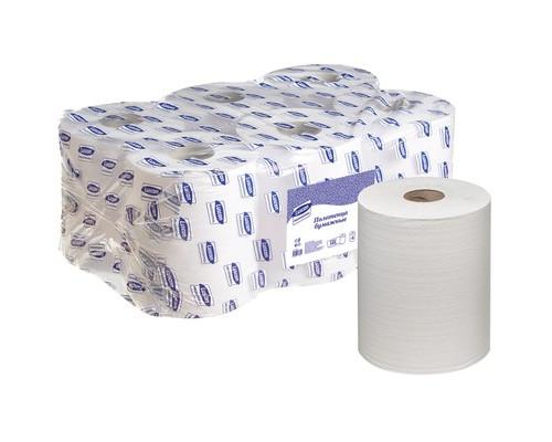 Полотенца бумажные в рулонах Luscan Professional 2-слойные 6 рулонов по 143 метра - (486352К)