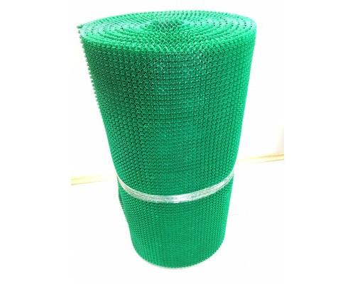 Ковер входной Травка из полиэтиленового модуля 0.98 x 10 м зеленый - (563933К)
