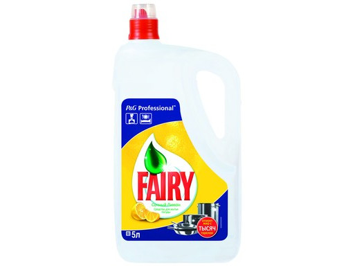 Средство для мытья посуды Fairy Expert Лимон 5 литров концентрат - (132676К)