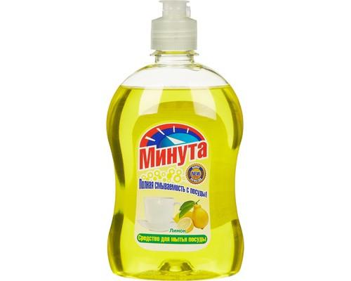 Средство для мытья посуды Минута Лимон 500 мл - (90106К)
