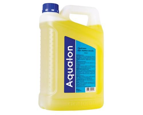 Средство для мытья посуды Aqualon 5 литров отдушка лимон - (132675К)