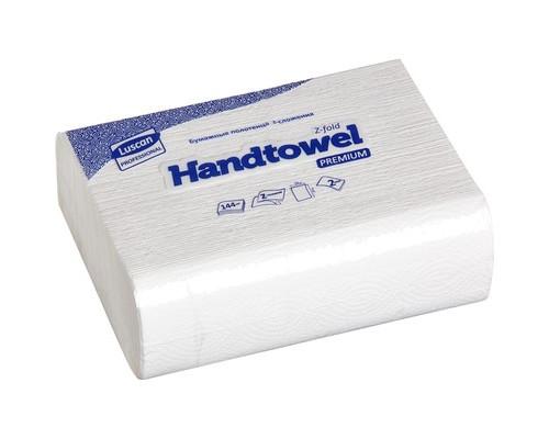 Полотенца бумажные листовые Luscan Professional Z-сложения 2-слойные 20 пачек по 144 листа - (368531К)