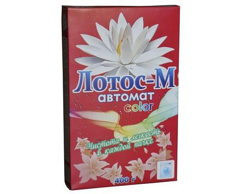 Стиральный порошок Лотос-М для цветного и белого белья 400 г нейтральная отдушка - (373788К)