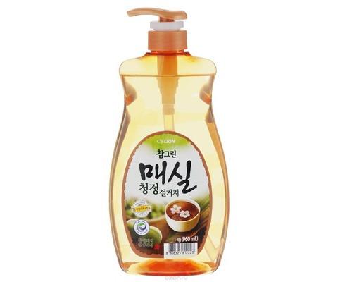 Средство для мытья посуды CJ Lion Charmgreen Японский абрикос 960 мл - (620011К)
