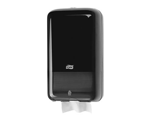 Держатель для туалетной бумаги диспенсер Tork Elevation Т3 556008 пластиковый черный - (332168К)