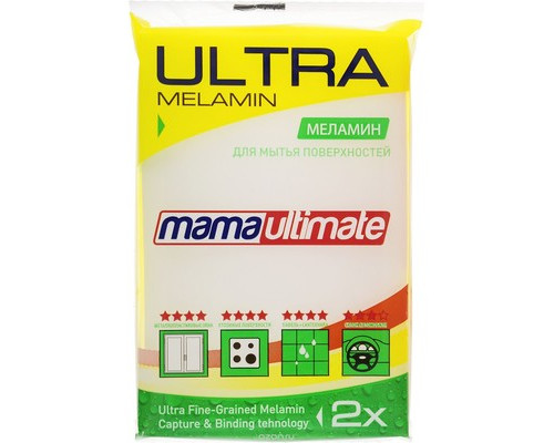 Губка меламиновая MamaUltimate 110x70x30 мм - (654482К)