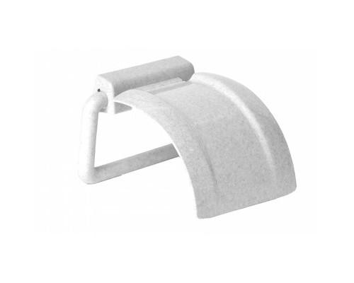 Держатель для туалетной бумаги М2225 пластиковый цвет мрамор - (220033К)