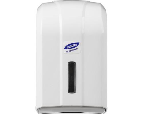 Держатель для туалетной бумаги диспенсер Luscan Professional пластиковый белый - (479414К)