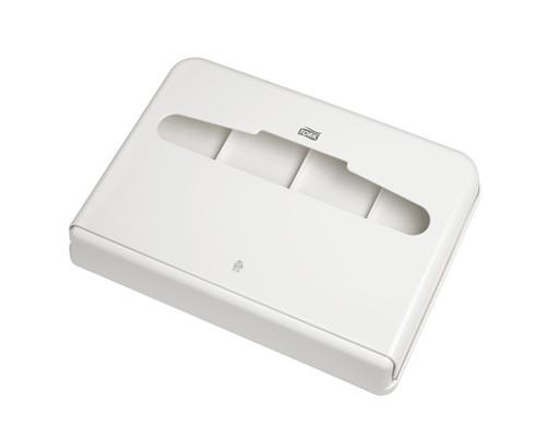 Диспенсер для покрытий на унитаз Tork белый пластиковый - (311315К)