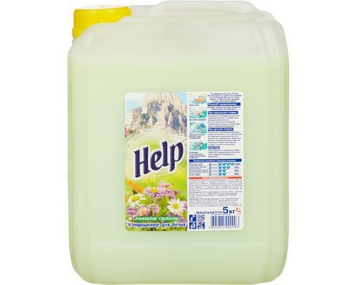 Кондиционер для белья Help Альпийская свежесть 5 л - (219410К)