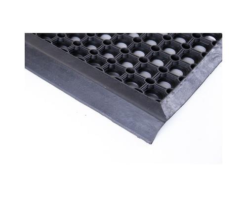 Накладка на ступени RSTM резиновая черная 26x80 см - (628418К)