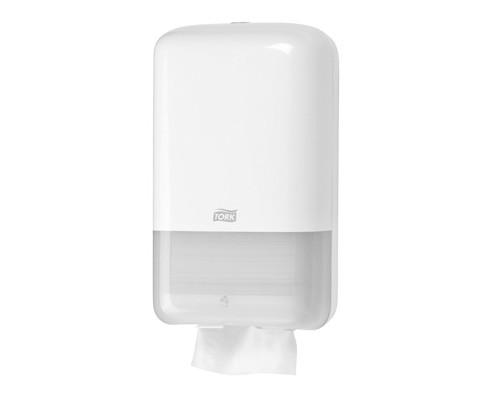 Держатель для туалетной бумаги диспенсер Tork Elevation Т3 556000 пластиковый белый - (332167К)