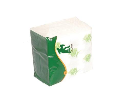 Салфетки бумажные Style Feerie 24х24 см белые с тиснением 100 штук - (556717К)