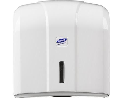 Держатель для полотенец диспенсер Luscan Professional V пластиковый белый - (479407К)