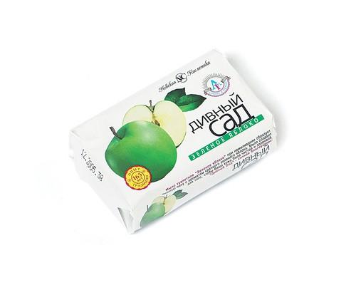 Мыло туалетное Дивный Сад Зеленое яблоко 90 г - (48616К)