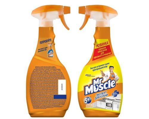 Чистящее средство универсальное Мистер мускул спрей 500 мл - (54312К)